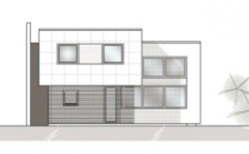 Cube House.   Facade